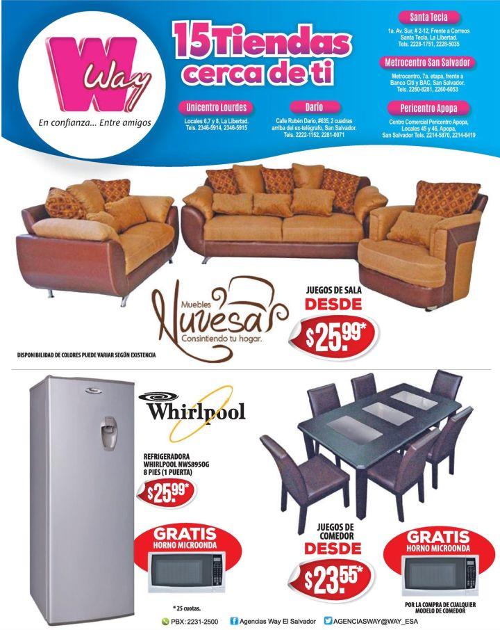 Almacenes WAY opciones en muebles a buen precio