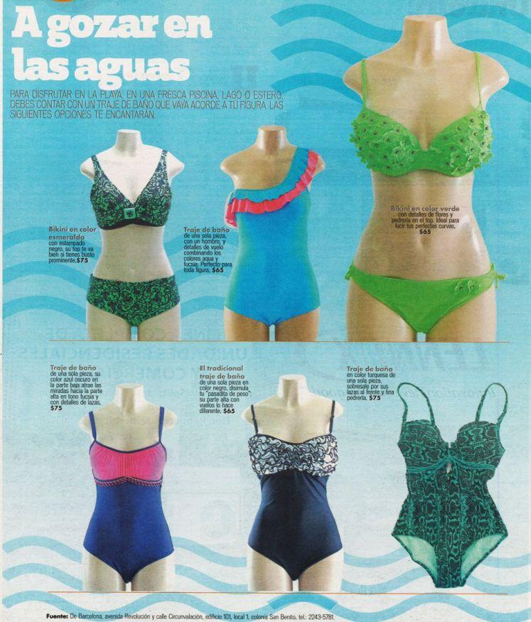 BIKINI trend for vacations de BARCELONA beaches