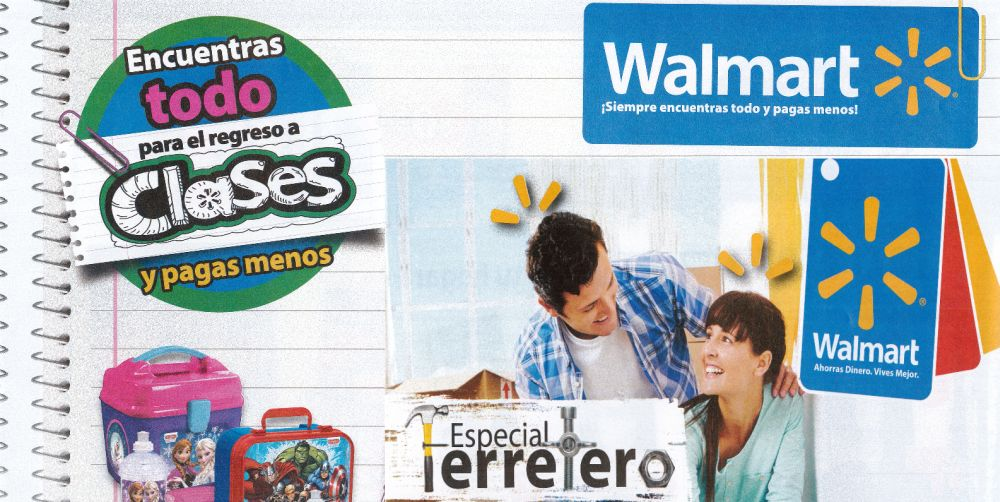 Back to school DEALS walmart homecenter july agust 2015