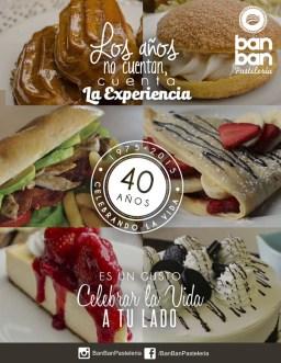 Ban Ban Pasteleria elsalvador celebran su aniversario 2015