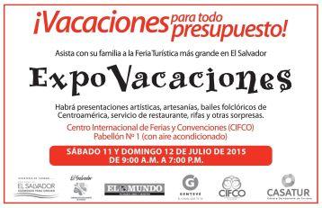 Decide tu destino de vacaciones 2015 en esta EXPO turistica