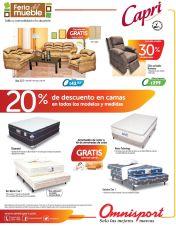 Descuentos en camas muebles sillones OMNISPORT - 18jul15