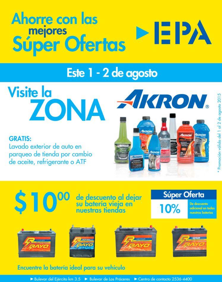 EPA Ahorra con las SUPER OFERTAS agostinas para autos - 31jul15