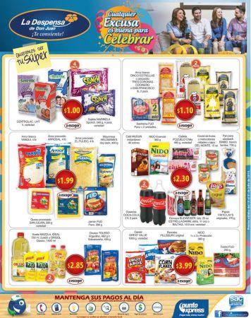 Escoge los producto que mas te gustan en OFERTA la despensa - 15jul15
