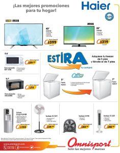 Estira tus compras y beneficios con ELECTRODOMESTICOS omnisport el salvador -16jul15