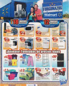 Fin de MES WALMART con precios bajos en sus FURGONAZOS - 24jul15