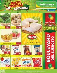 Maxi Fiestas agostinas 2015 con grandes produtos para ahorrar