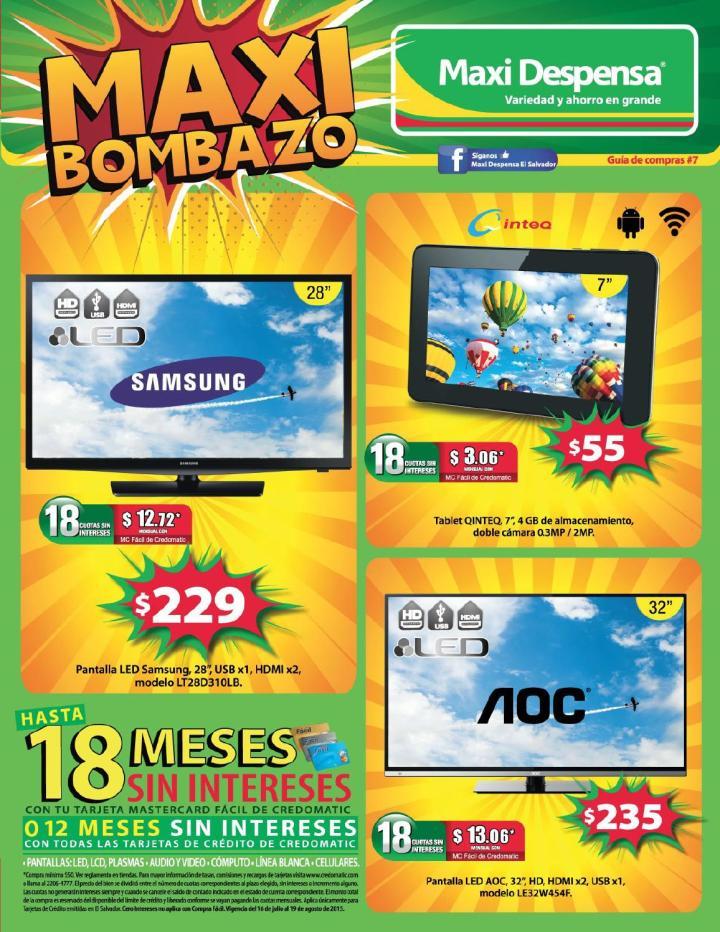 Maxi bombazo GUIA de compras no7 - julio 2015