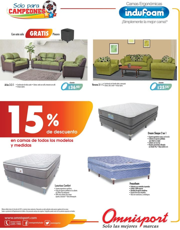 OMNISPORT discount for furniture luxory elegant and beauty