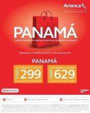PANAMA oferta de vuelos AVIANCA