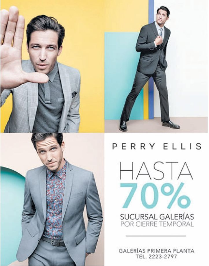 Sucursal GALERIA Perry Ellis store for mens
