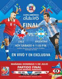 TODAY watch final match copa amierica 2015