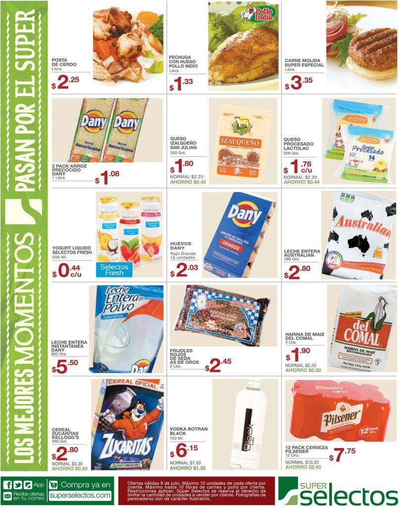 catalogo de ofertas del dia superselectos.com - 09jul15