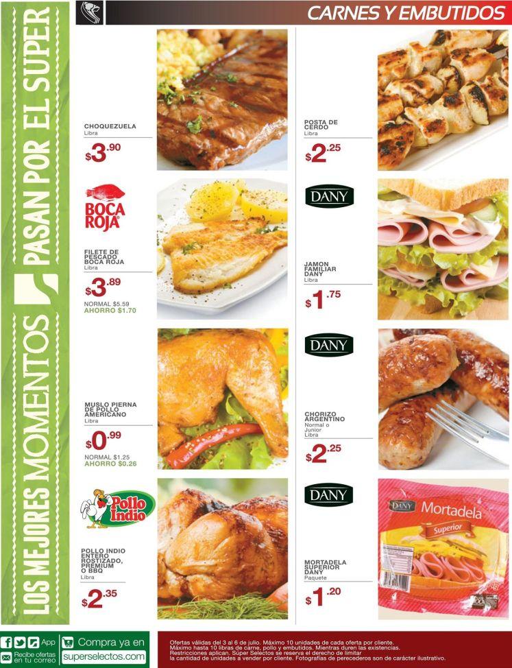 descuentos del dia en carnes super selectos - 03jul15