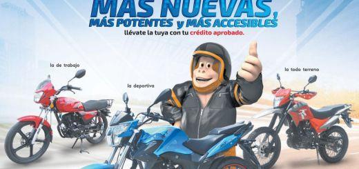 nueva colecion de motos y promociones almacenes tropigas