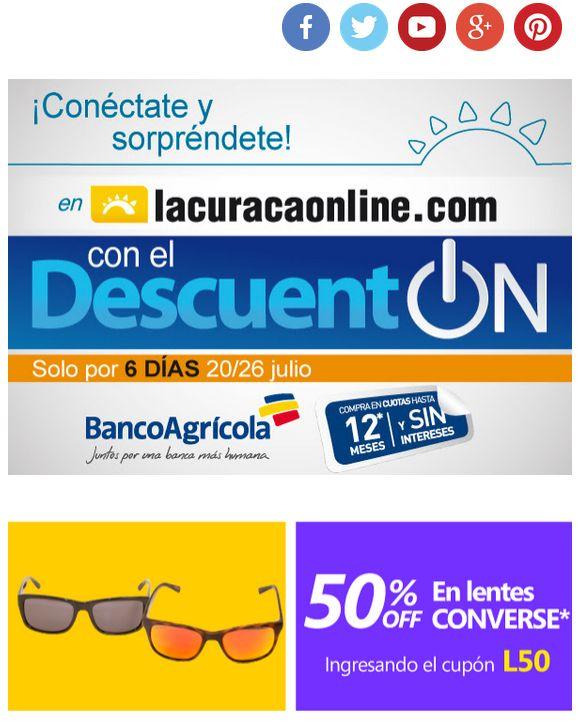 online disocunts gracias LA CURACAO ONLINE