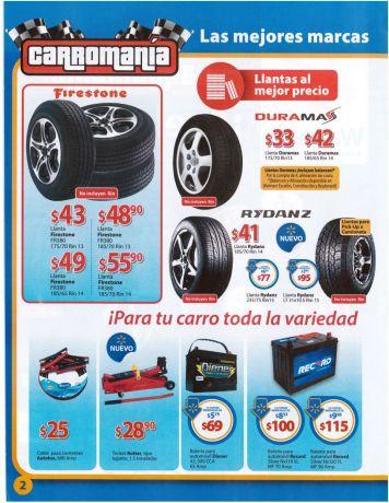 promociones WALMART folleto CARROMANIA 2015