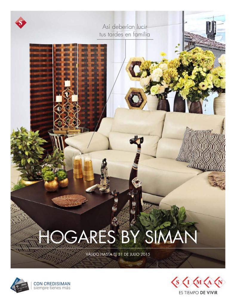 revista decoracion de hogares y salas by SIMAN