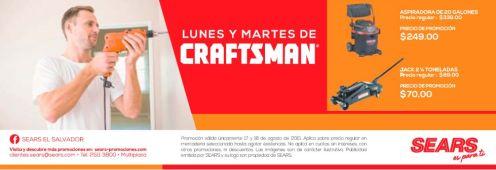 Accesorios para TALLER AUTOMOTRIZ craftman