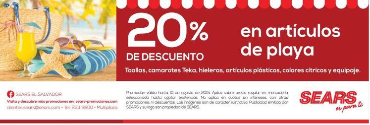 BEACH productos discounts and deals via SEARS