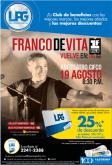 Descuento 25 OFF entradas para el concierto Franco de vita elsalvador 2015