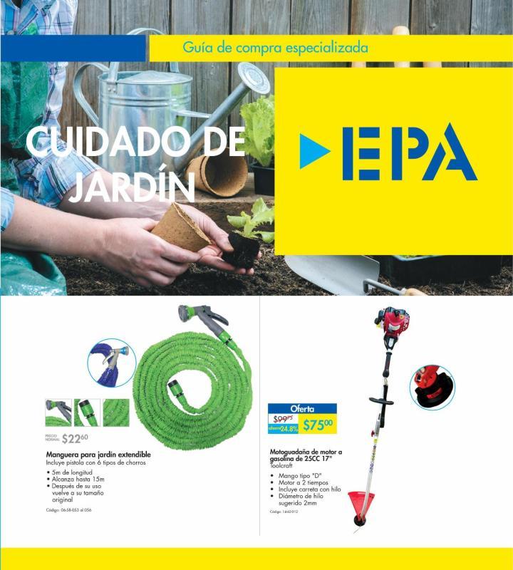EPA te invita a Consultar la guia de compra especializada JARDIN
