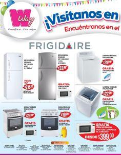 Electrodomesticos con la garantia y buen precio WAY elsalvador