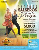 GANA 1000 dolares participando en el concurso de baile SALSA plaza merliot