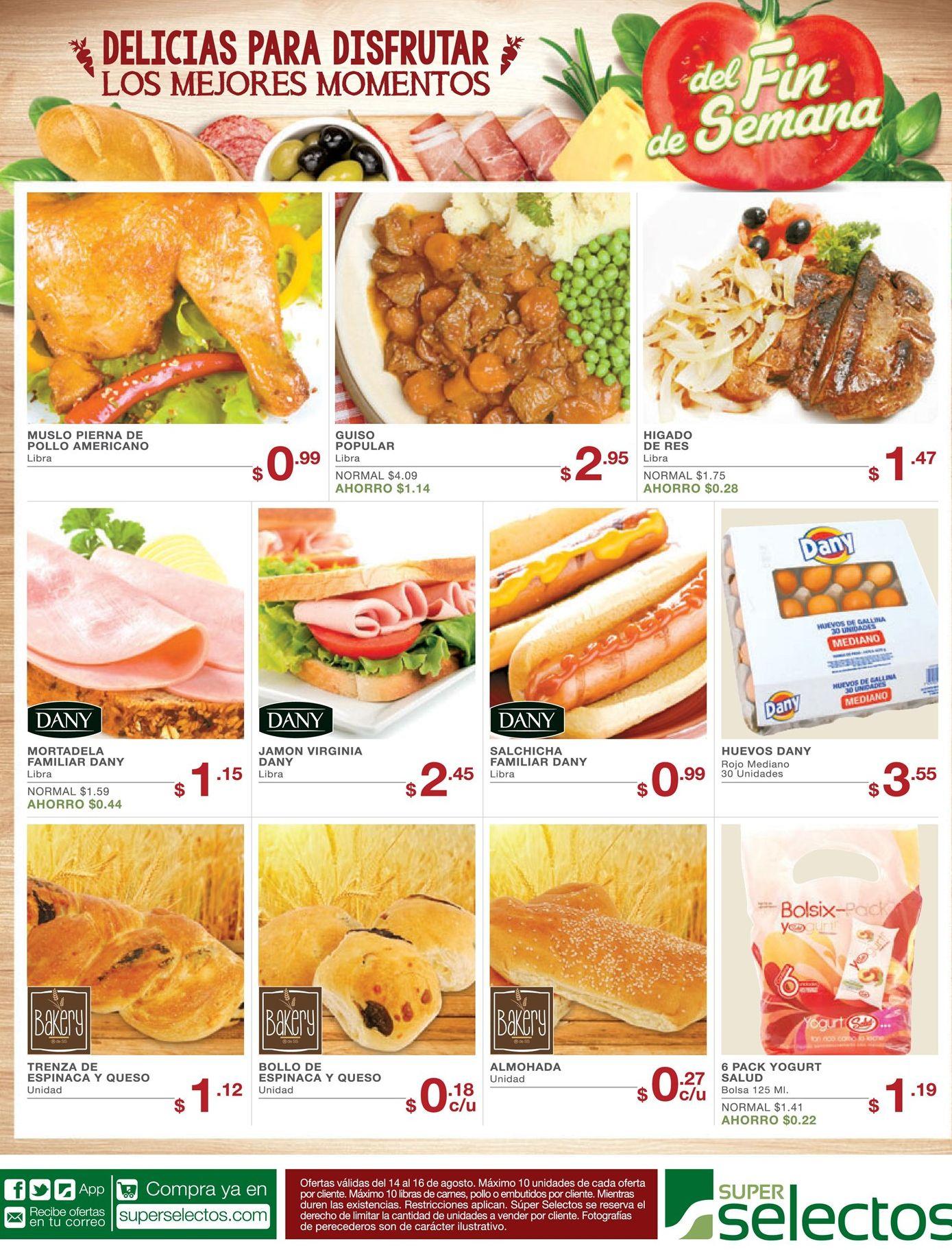 Ideas de comidas para disfrutar en el fin de semana 14ago15 ofertas ahora Ideas fin de semana