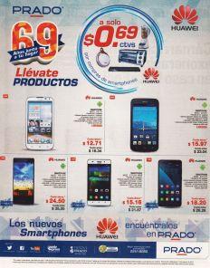Sigue las promociones de aniversario PRADO ahora en celulares HUAWEI - 14ago15