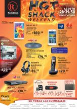 TECNOLOGIA con ofertas HOT Radio SHACK weekend - 28ago15