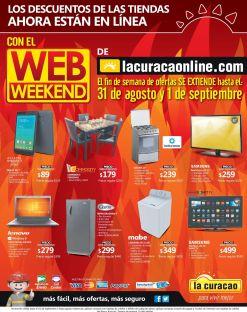 TODAY online discount LA CURACAO web weekend - 31ago15