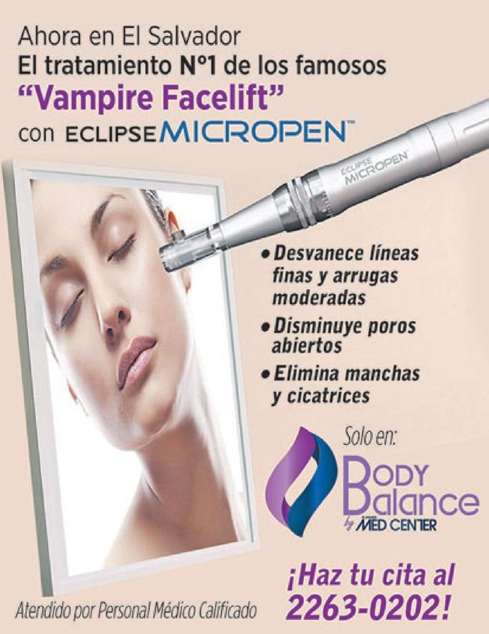 VamPire facelift fantastic treatment eclipse MICROPEN