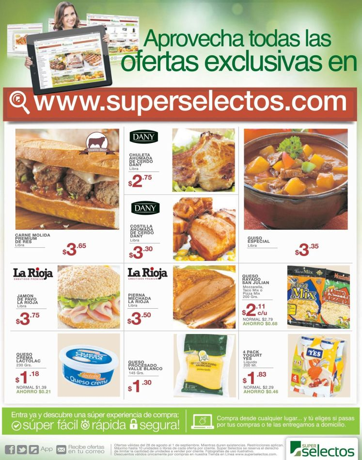 compras online y ofertas exclusivas superselectos
