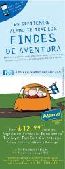 ALAMO RENT a car promotions SEPTEMBER 2015
