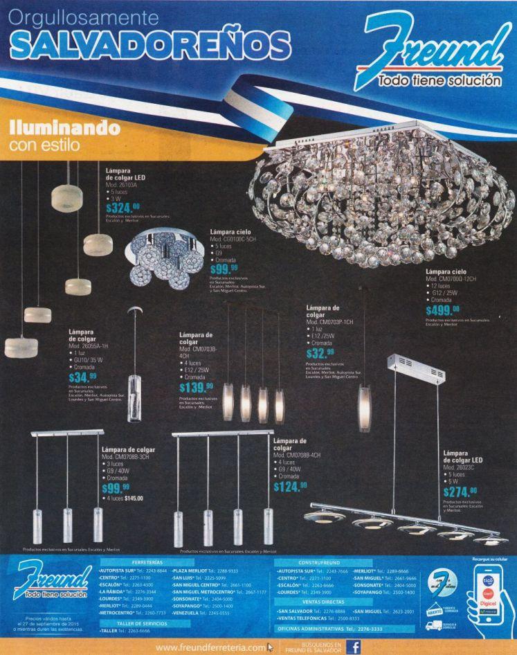 Como iluminar con las lamparas mas moderna y con estilo FREUND tiene la solucion