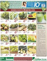 Conoce los beneficios de las frutas y verduras verdes