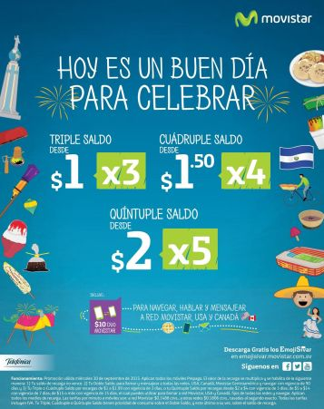 ENJOY with movistar APP elsalvador mucho saldo y diversion