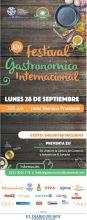 FESTIVAL gastronomico internacion 2015 el salvador