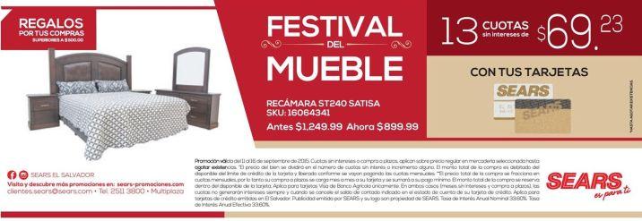 Feria del muebles en SEARS con regalos adicional or tus compras