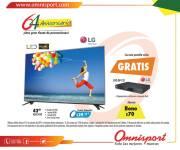 Fiesta de promociones en OMNISPORT bono de 70 dolares