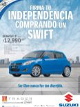 Firma tu independencia con carro nuevo SUZUKI swift