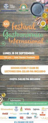 HOY en hotel sheraton festival gastronimico international - 28sep15