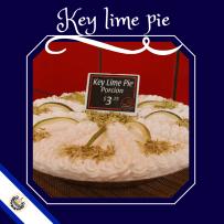 KEY Lime pie desert The Coffe Cup el salvador