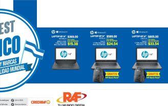 LAPTOP HP en promociones computadoras RAF - 11sep15
