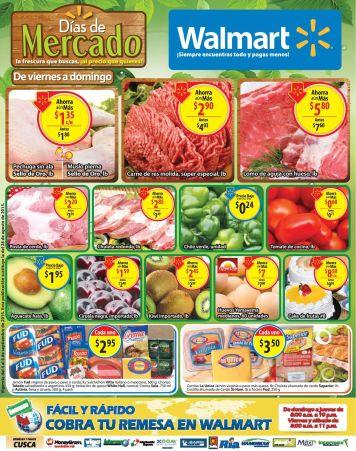 La forma mas facil de ir al mercado es via WALMART - 04sep15