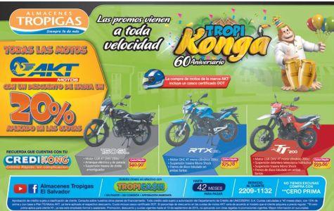 Las promociones que vienen con maxima velocidad TROPIGAS sv