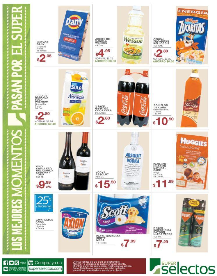Lo que buscas en super selectos ofertas de viernes - 25sep15
