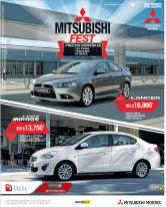 MITSUBISHI fest car deal precios increibles