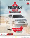 MITSUBISHI pick up L 200 deals promotions